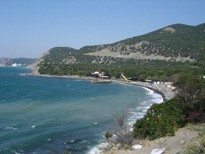 большой утриш фото пляжа и поселка